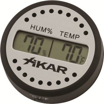 Hygromètre digital Xikar rond photo 100