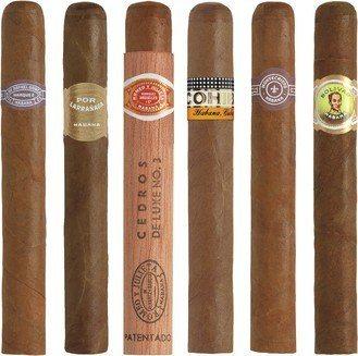 Zigarren Probiersets / Sampler Zigarrensampler Petit Corona / Mareva