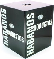 Habanos Rubustos humidor black