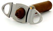 Adorini coupe-cigares oval en acier raffiné photo 100