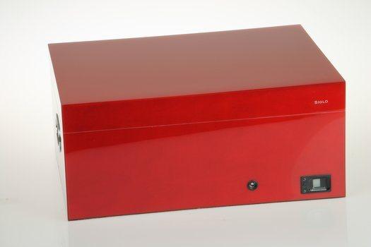 Siglo Cave à cigare empreinte digitale rouge