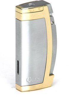 Colibri Enterprise 1 briquet argent / Rose or