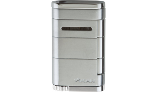 Briquet Xikar single Jet Allume argenté