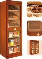 Adorini Roma (acajou) - vitrine armoire à cigares électronique