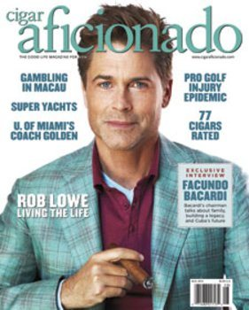 Le magazine Cigar Aficionado - juillet / août 2014