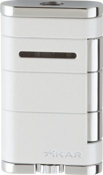 Briquet Xikar single Jet Allume blanc