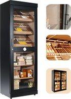 Adorini Roma (noire) - vitrine armoire à cigares électronique