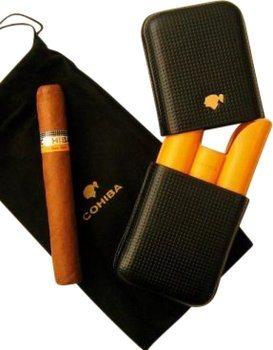 Cohiba Etui 3 cigares en cuir