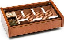 Vega (acajou) - cave à cigare avec couvercle vitré Deluxe photo 100