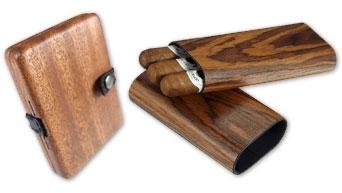 Étuis à Cigares En Bois